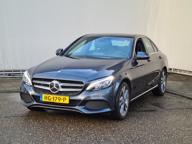 Mercedes-Benz C-Klasse 350E Plug-in Hybride, panoramadak, head-up display. handelsprijs! zo mee nemen Foto 1