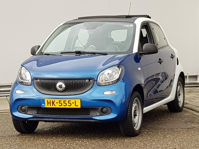 Smart Forfour 1.0 Pure AUTOMAAT Panoramadak,cruise controle etc! Foto 1