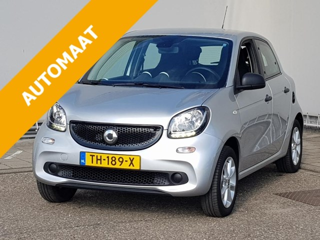 Smart Forfour 1.0 90pk Turbo Pure, airco, cruise control, APK t/m 10-08-2022!! Foto 1